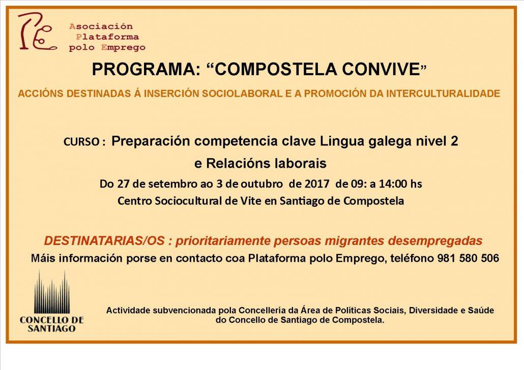 Cartaz competencias galego
