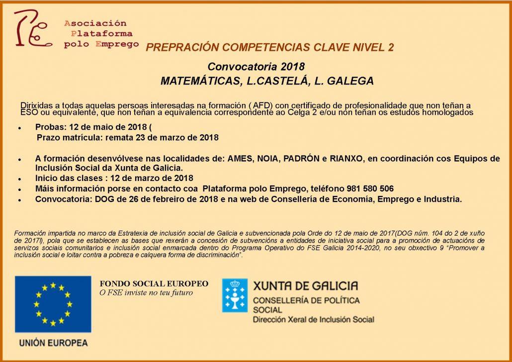 Formación Competencias Clave D.X. Inclusión 2018