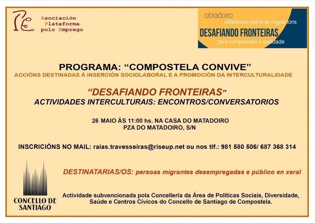 Formación encontro-conversatorio Desafiando fronteiras