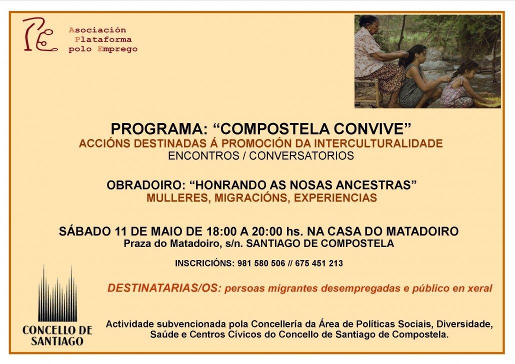 """OBRADOIRO """"HONRANDO AS NOSAS ANCESTRAS"""""""